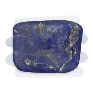 Iolite appears deep violet-blue and in another position, its colour appears smoky yellowish-grey.