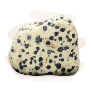 Dalmatian Stone is a beige to tan igneous rock with black and brown coloured spots.
